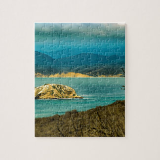 Mountains and Sea at Machalilla National Park Jigsaw Puzzle