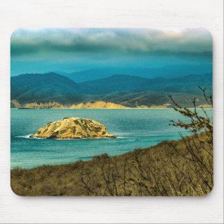Mountains and Sea at Machalilla National Park Mouse Pad