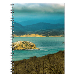 Mountains and Sea at Machalilla National Park Notebook