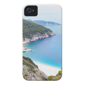 Mountains and sea in greek bay Case-Mate iPhone 4 cases
