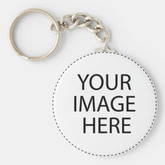Mountains and Snow Postcard Basic Round Button Keychain