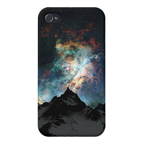 Mountains and Star Dust Covers For iPhone 4