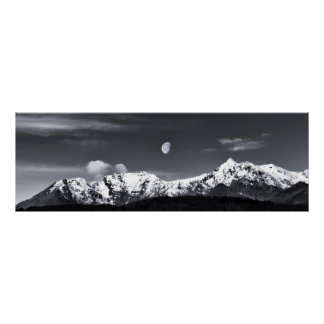 mountains and the moon poster