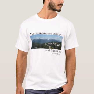 Mountains are Calling - Light T-Shirt