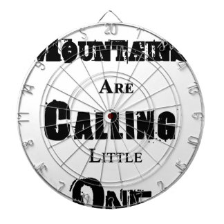 Mountains Are Calling Little One Dartboard