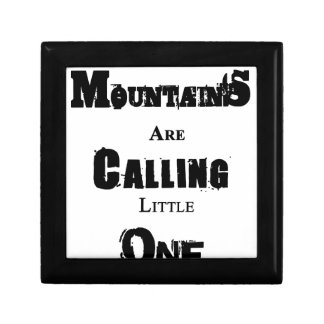 Mountains Are Calling Little One Gift Box