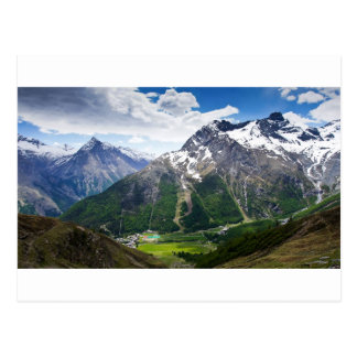 Mountains Around Saas Fee Postcard