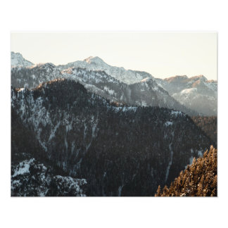 Mountains at Dusk Photo Print