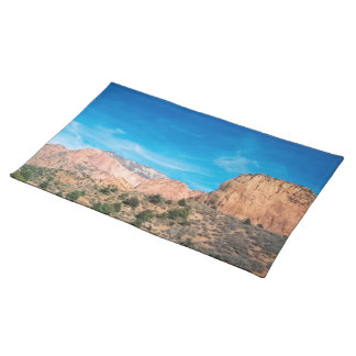 Mountains at Zion American Mojo Custom Placemats