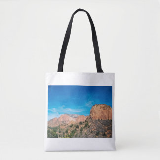 Mountains at Zion Tote Bag