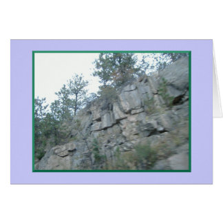 Mountains Away But In My Heart Note Cards