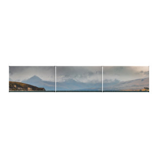 Mountains Behind Lake Tekapo Canvas Print