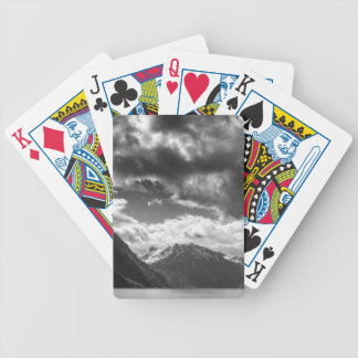 Mountains Bicycle Playing Cards