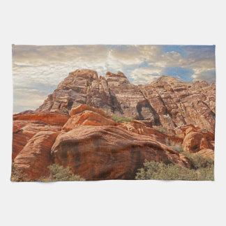 Mountains HDR photo Towel