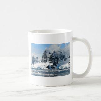 mountains ice bergs coffee mug