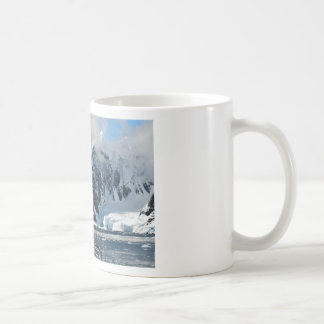 mountains ice bergs coffee mug