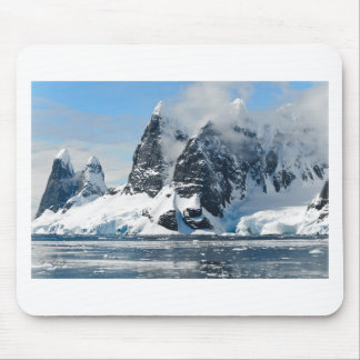 mountains ice bergs mouse pad
