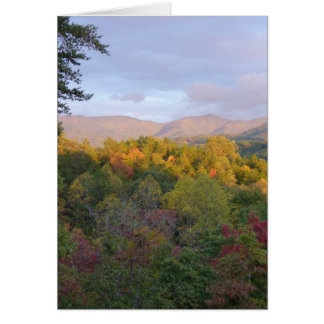 Mountains in Fall Card