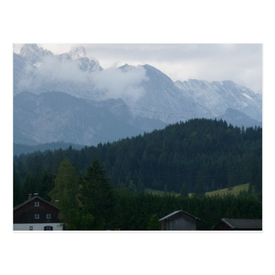 Mountains in Germany Postcard