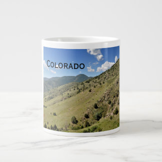 mountains in Morrison Colorado Large Coffee Mug