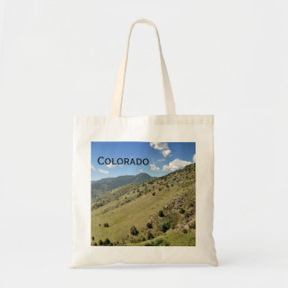 mountains in Morrison Colorado Tote Bag