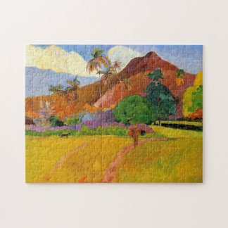 'Mountains in Tahiti' - Paul Gauguin Jigsaw Puzzle