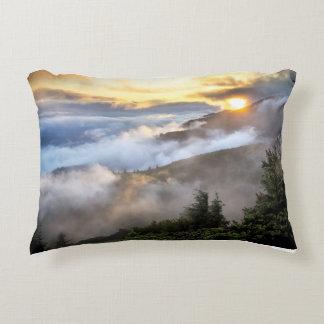 mountains-in-tea-mist decorative pillow