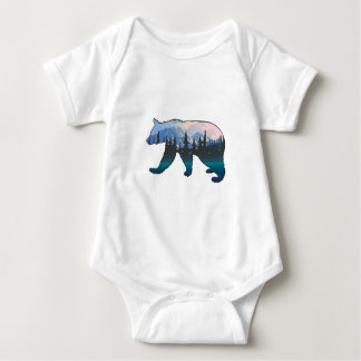 Mountains in the Mist Baby Bodysuit