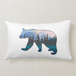 Mountains in the Mist Lumbar Pillow
