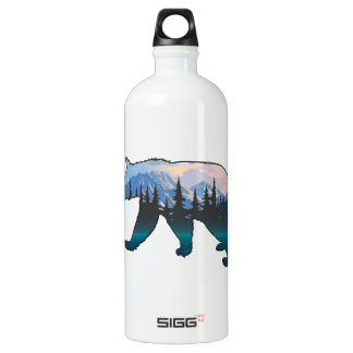 Mountains in the Mist Water Bottle