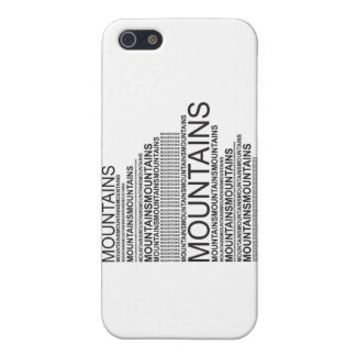 Mountains iPhone 5 Covers