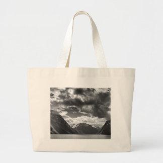 Mountains Large Tote Bag