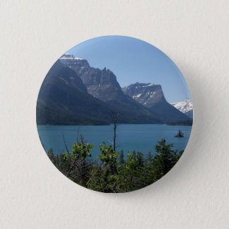 Mountains Maontana Glacier Parks 2 Inch Round Button