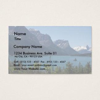 Mountains Maontana Glacier Parks Business Card