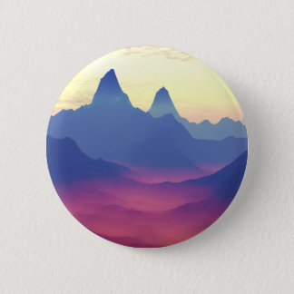 Mountains of Another World 2 Inch Round Button