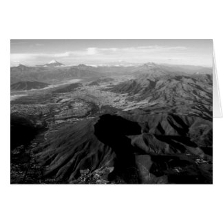 Mountains of Ecuador Card