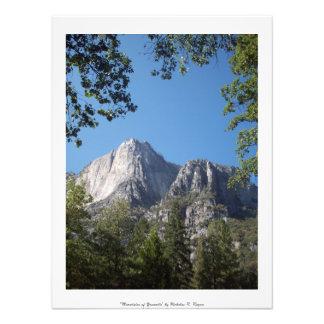 """Mountains of Yosemite"" Professional Photograph"