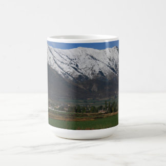 Mountains Overlooking Wellsville Coffee Mug