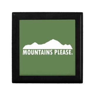 Mountains Please Gift Box