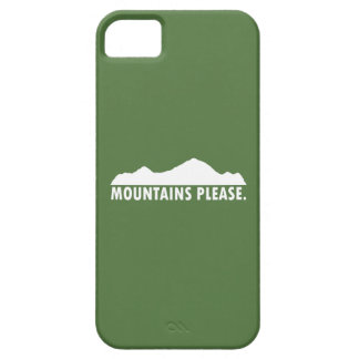 Mountains Please iPhone 5 Case