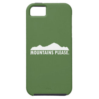 Mountains Please iPhone 5 Cover