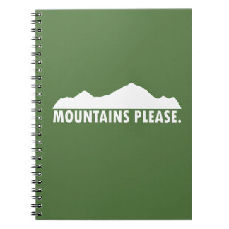 Mountains Please Notebook