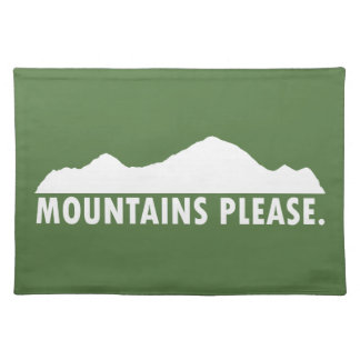 Mountains Please Placemat