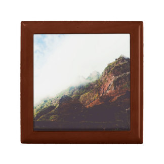 Mountains, Relaxing Nature Landscape Scene Gift Box