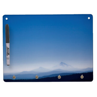 Mountains & Sky Dry Erase and Keychain Holder Dry Erase Whiteboard