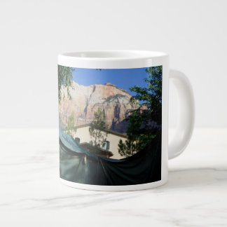 Mountains Tents Camping Mug Cup