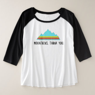 Mountains, Thank You shirt