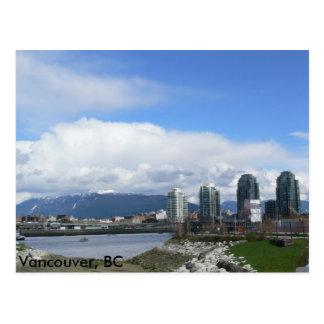 Mountains Vancouver, BC Postcard