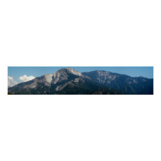 Mountains, View in the Sequoia National Park Poster
