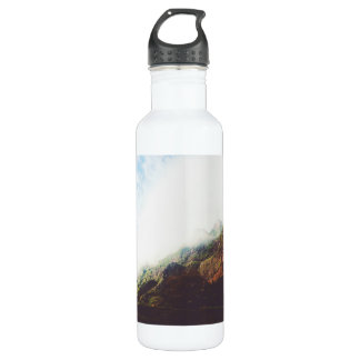 Mountains Wanderlust Adventure Nature Landscape 710 Ml Water Bottle